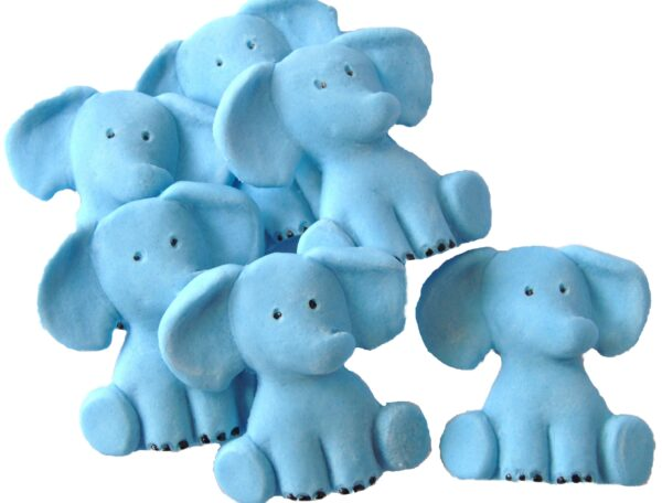 Edible elephants cake decorations