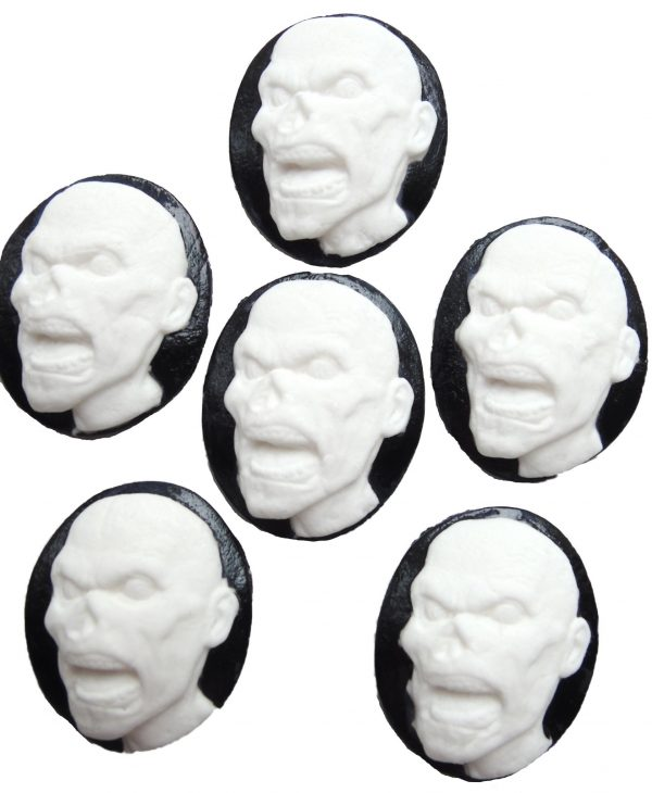 Zombi cupcake toppers