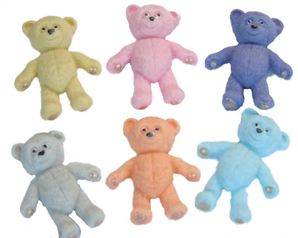 Coloured teddys