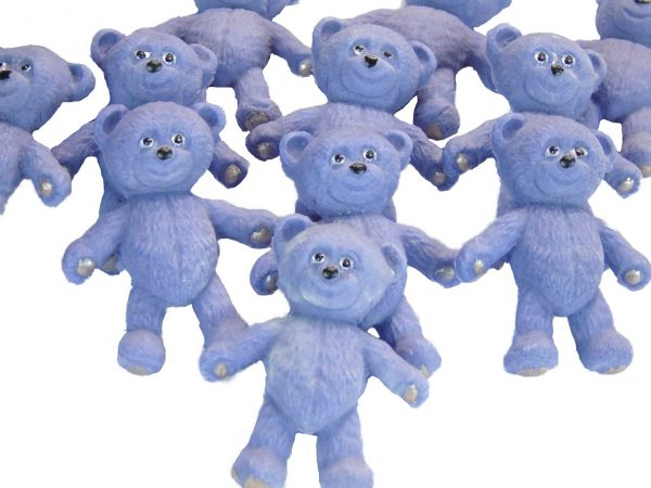 Purple teddies