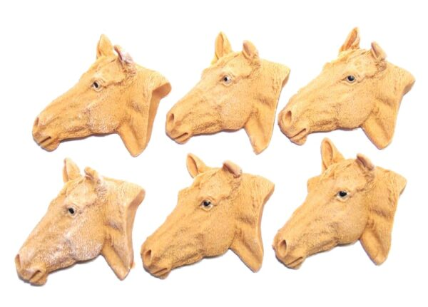 horse faces cupcake toppers & cake decorations