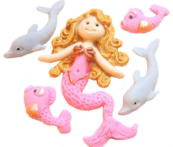Blond mermaid Set