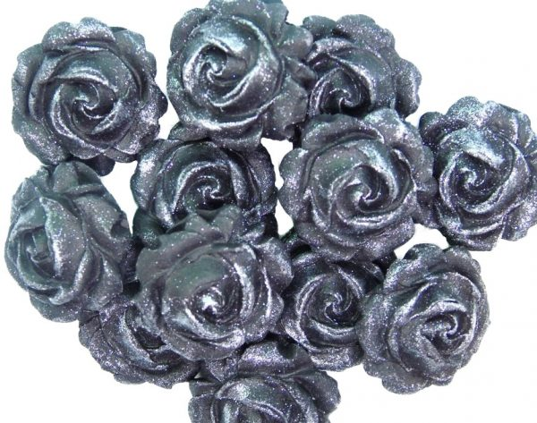 new small roses black
