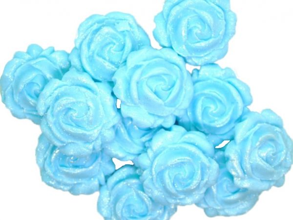 new small roses blue