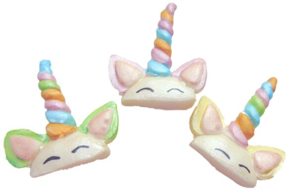 Unicorn horn sets cupcake toppers