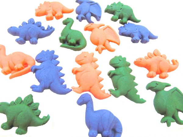 15 edible dinosaurs cupcake topper decorations