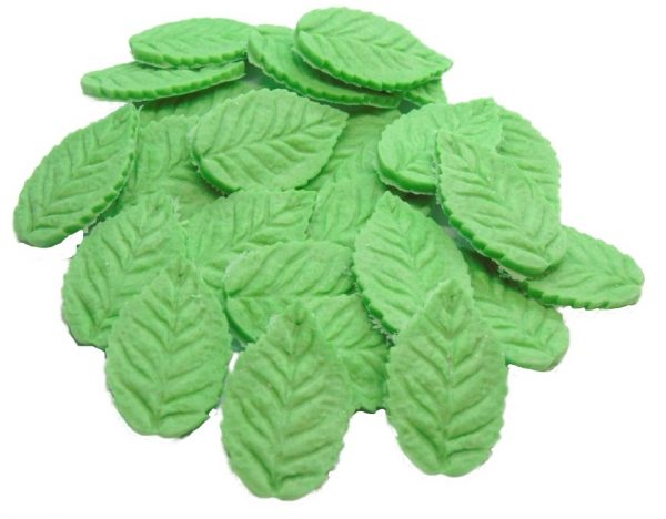 24 Leaves flower edible decorations