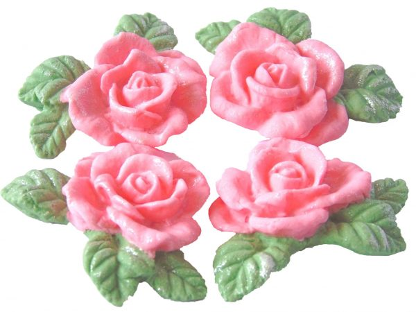 Pink n Garlands cake decorations