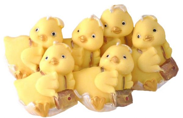 cute edible chicks back to school cupcake toppers and cake decorations
