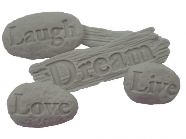 love laugh live and dream cake decorations