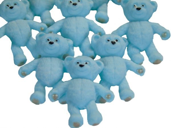 Blue teddies